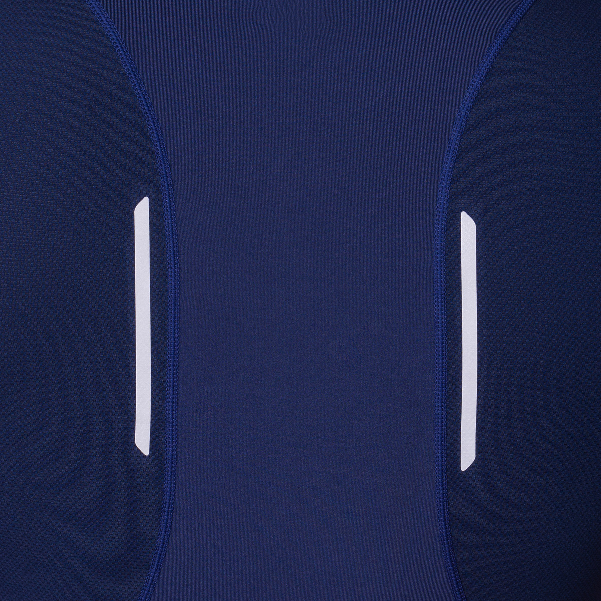 Essential Mesh Blocking Tight-Fit T-Shirt for Men in Navy | Gym Aesthetics