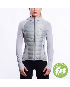 Gym Aesthetics | Ultrasonic 2.0 Training  Jacke für Damen in Melange Grau - preview