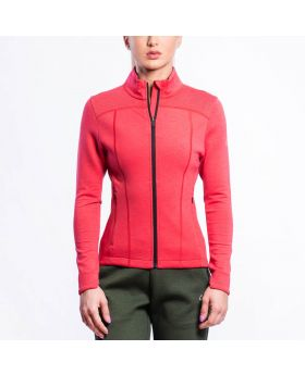 Gym Aesthetics | Taillierte Trainingsjacke für Damen in Koralle - previw