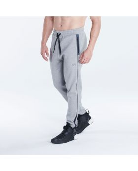 Performance Straight-Fit Jogginghosen für Herren in Melange Grau - preview