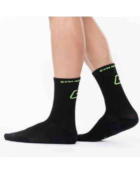 Gym Aesthetics | Lange Performance Sportsocken in Schwarz - previw