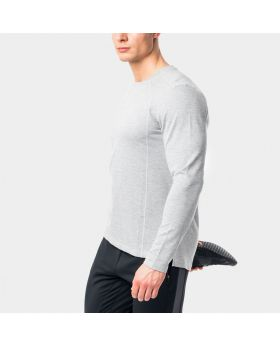 "Atmungsaktives Shirt für Herren ""Performance"" in grau"