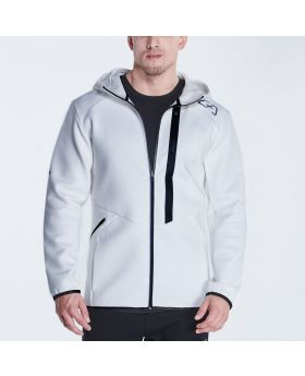 Gym Aesthetics | OutRun Jacket for Men in White - previw